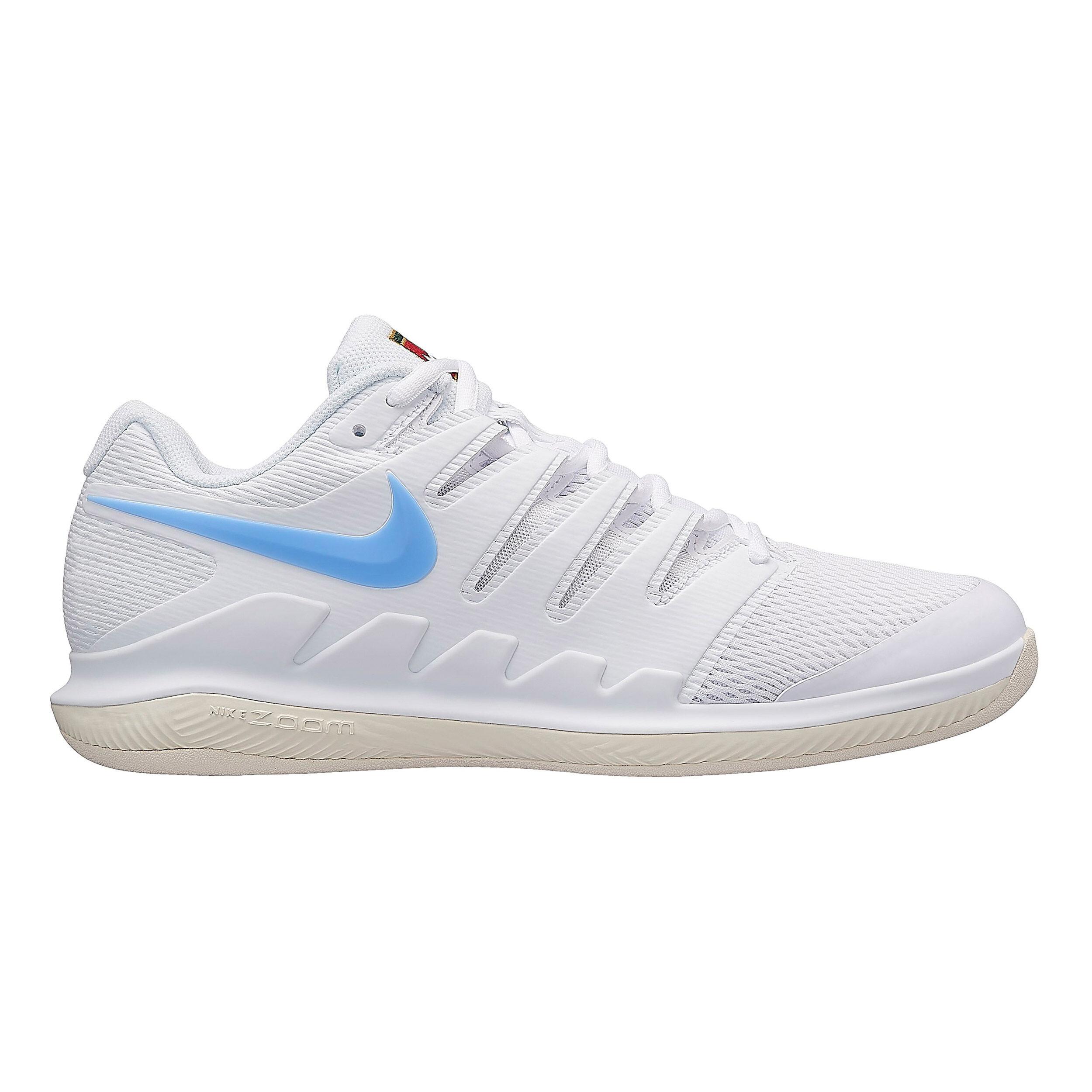Nike Air Zoom Vapor X Chaussure Moquette Hommes Blanc , Crème