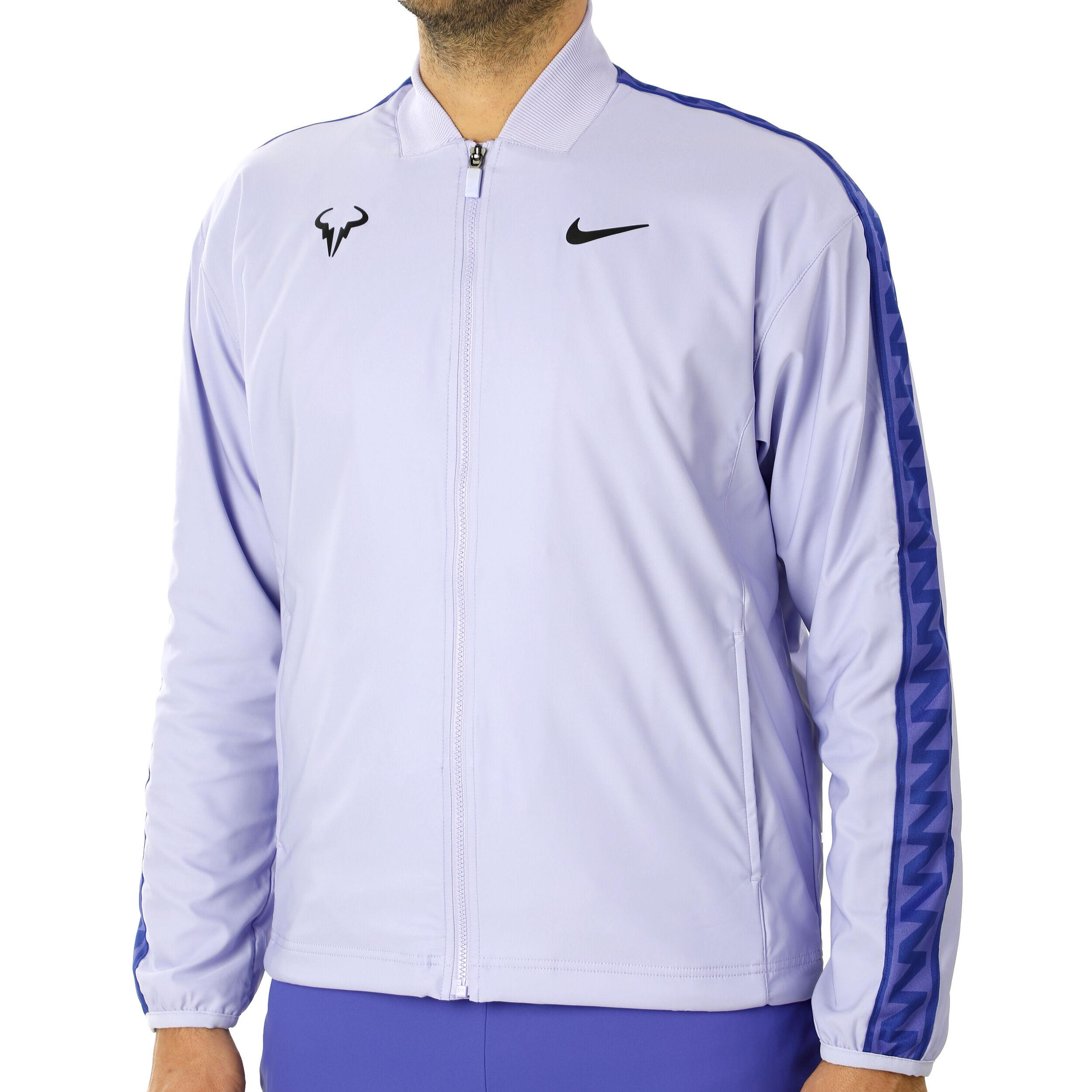 Nike Rafael Nadal Veste De Survêtement Hommes Lilas , Noir