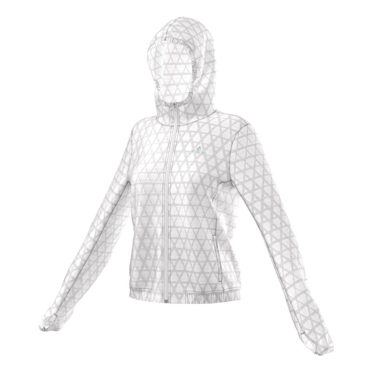 adidas Kanoi Run Transparent Jacket Veste Running Femmes