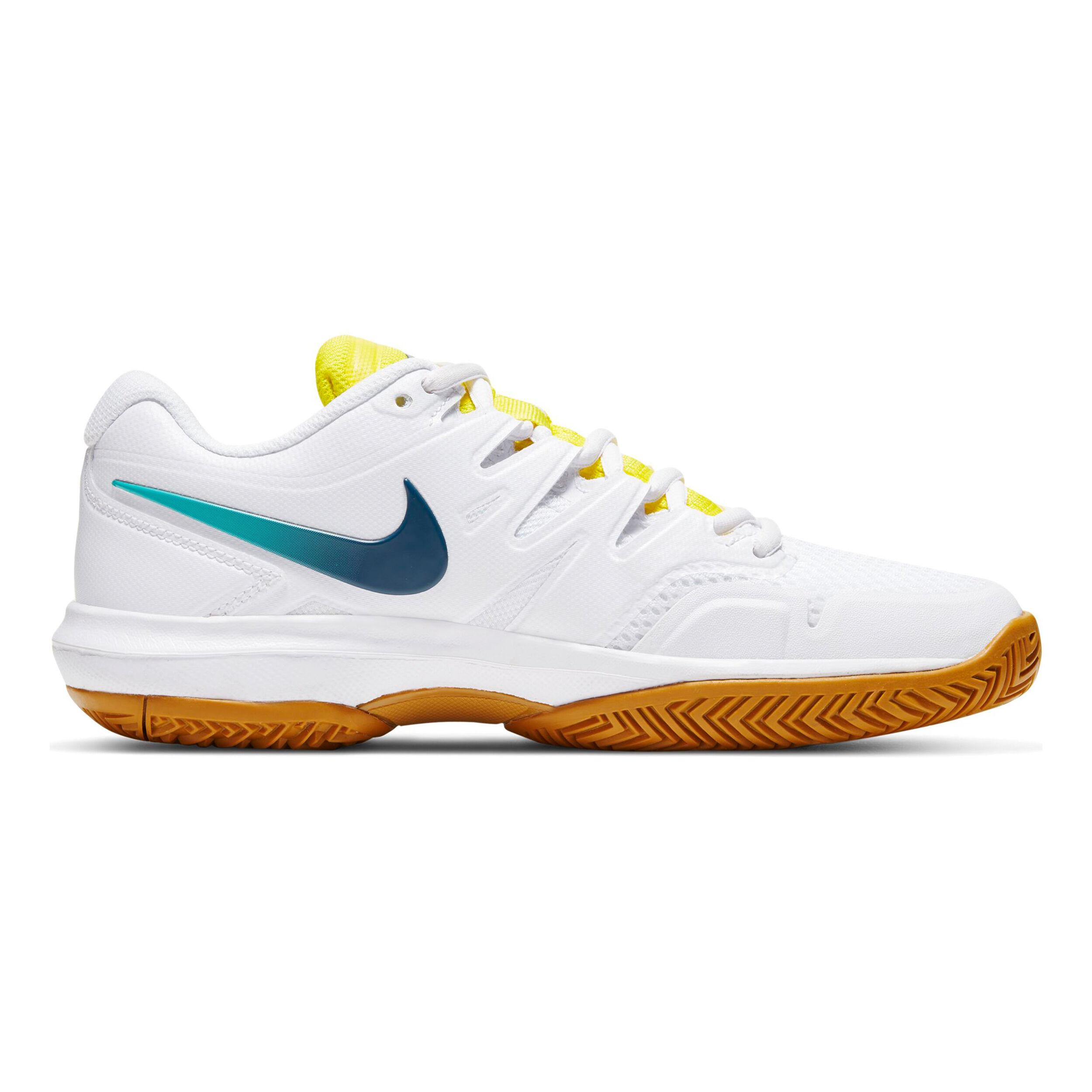 Nike Air Zoom Prestige Chaussures Toutes Surfaces Femmes - Blanc ...