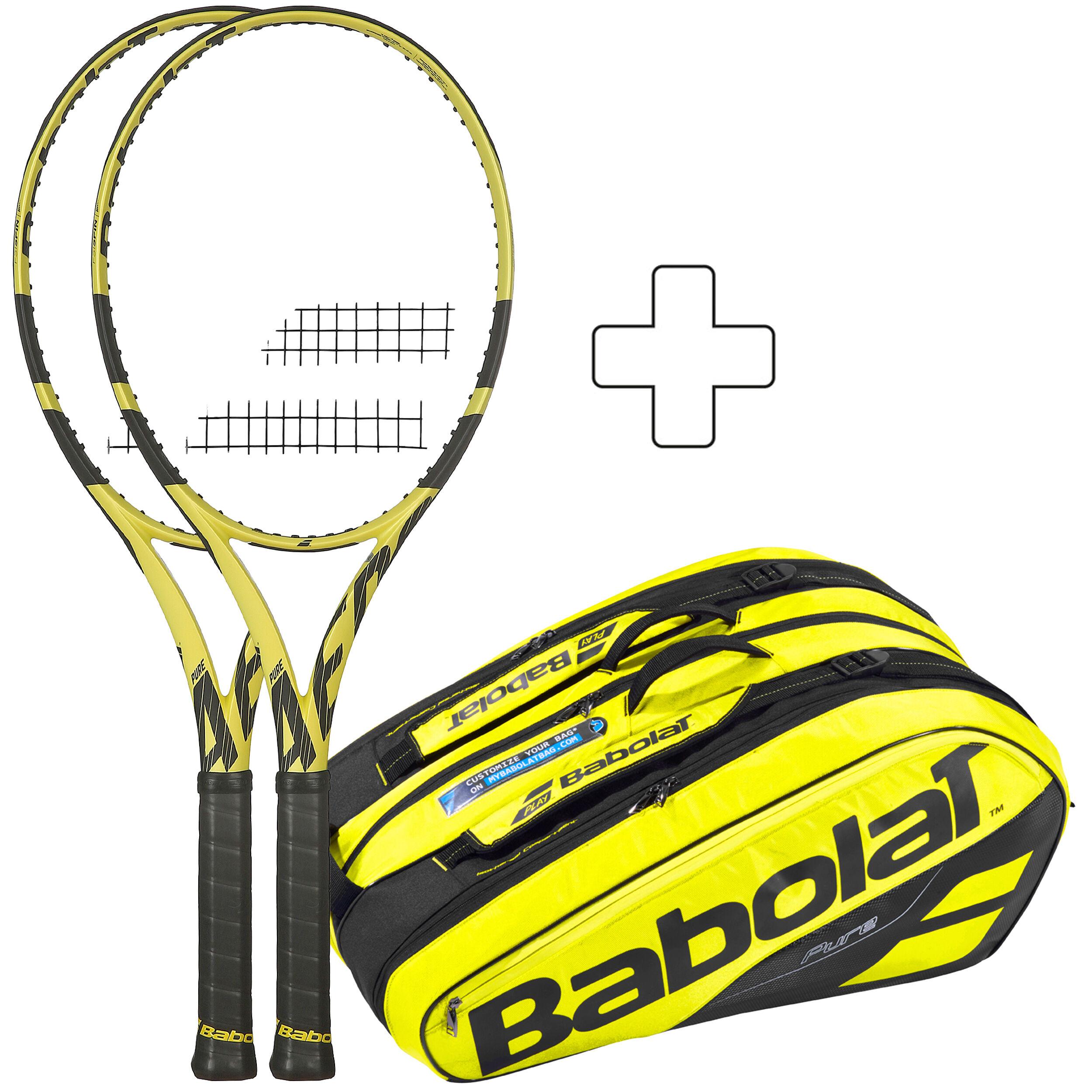 Babolat Tennisschl/äger Pure Drive Team unbesaitet