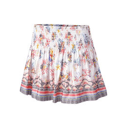 Long Mix N' Patch Smocked Skirt
