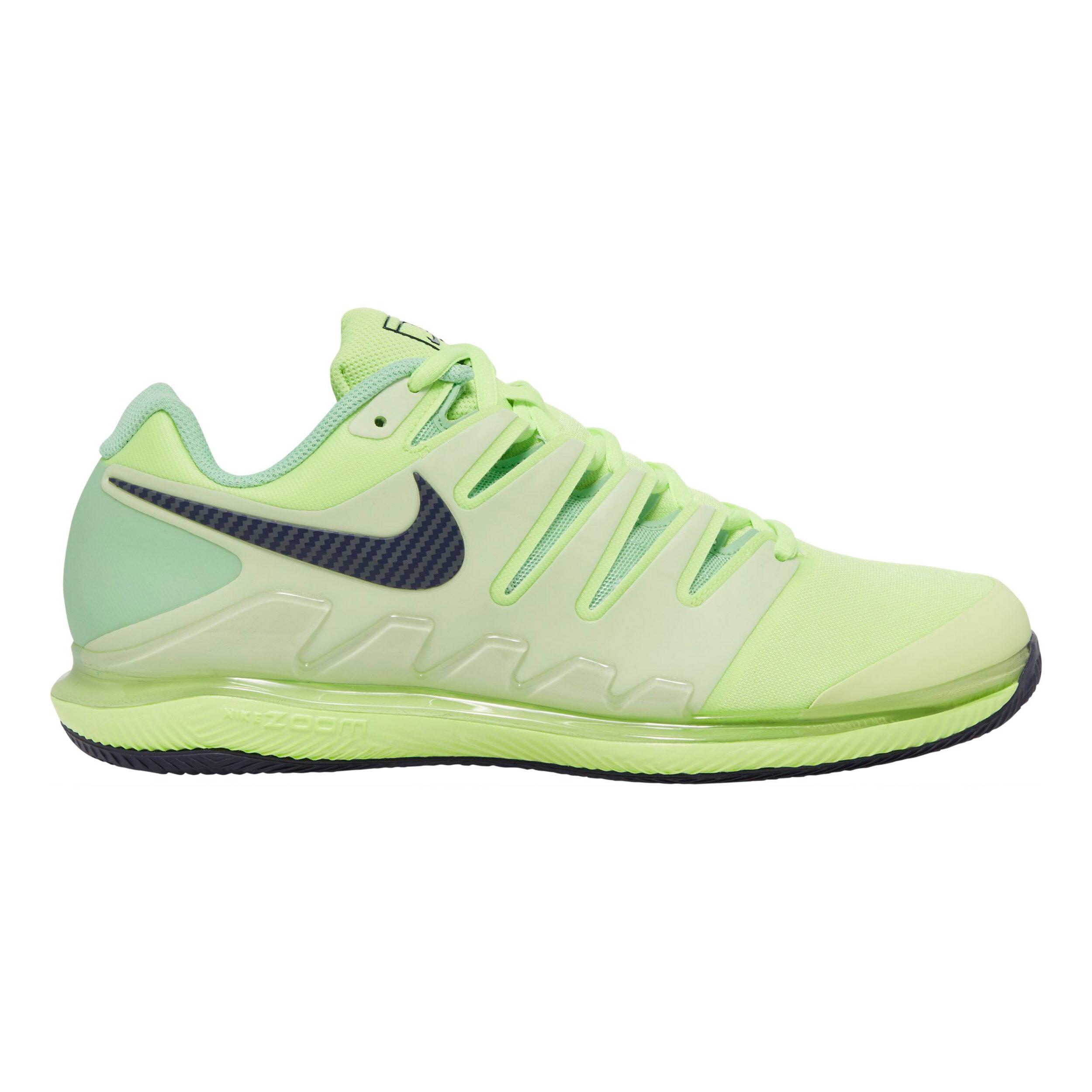 Nike Air Zoom Vapor X Clay Chaussure Terre Battue Hommes - Vert ...
