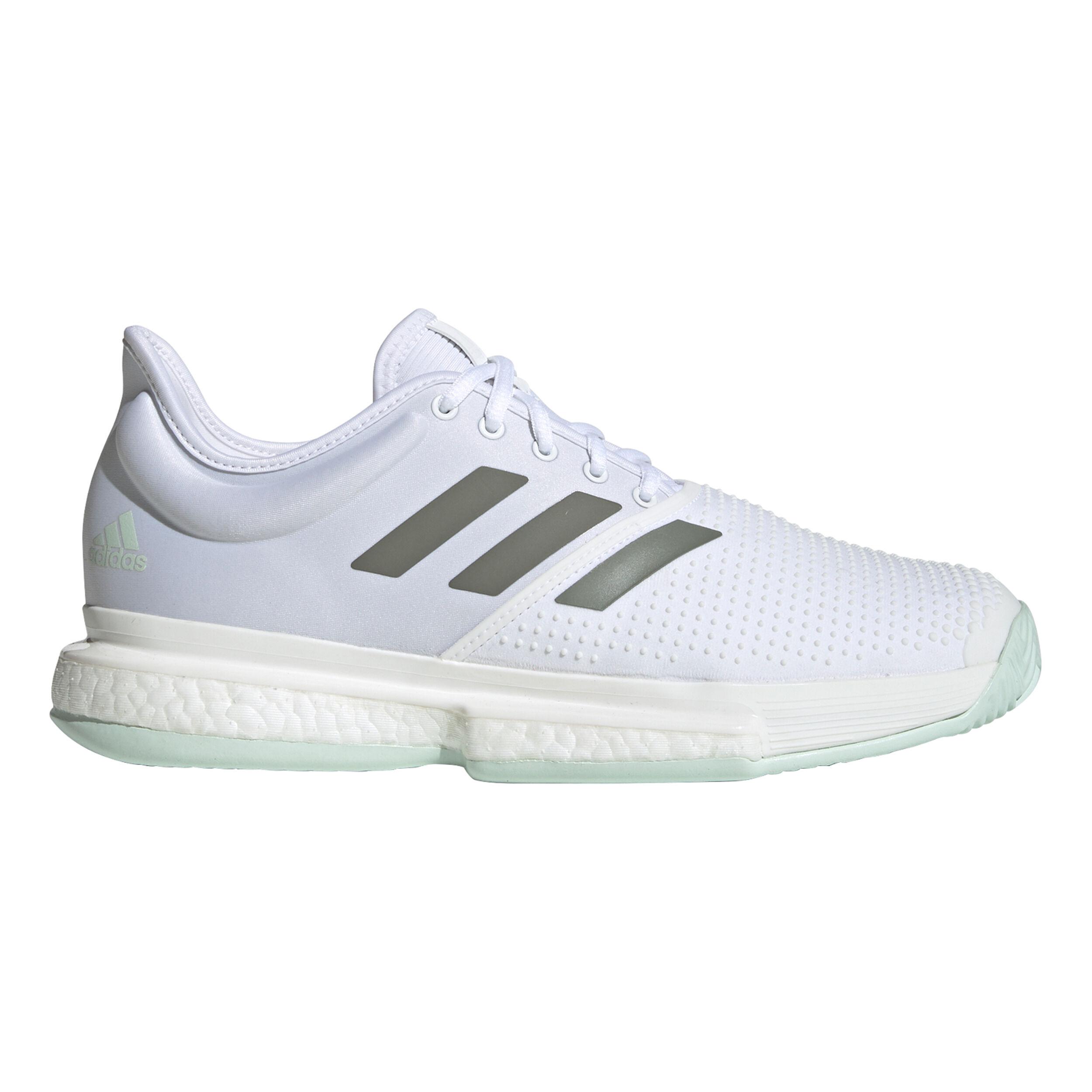 Sole Court Boost Chaussure Tout Terrain Hommes Blanc , Mint