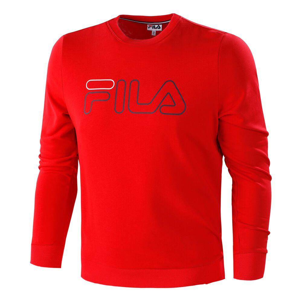 Fila Rocco Sweat-shirt Hommes - Rouge , Noir