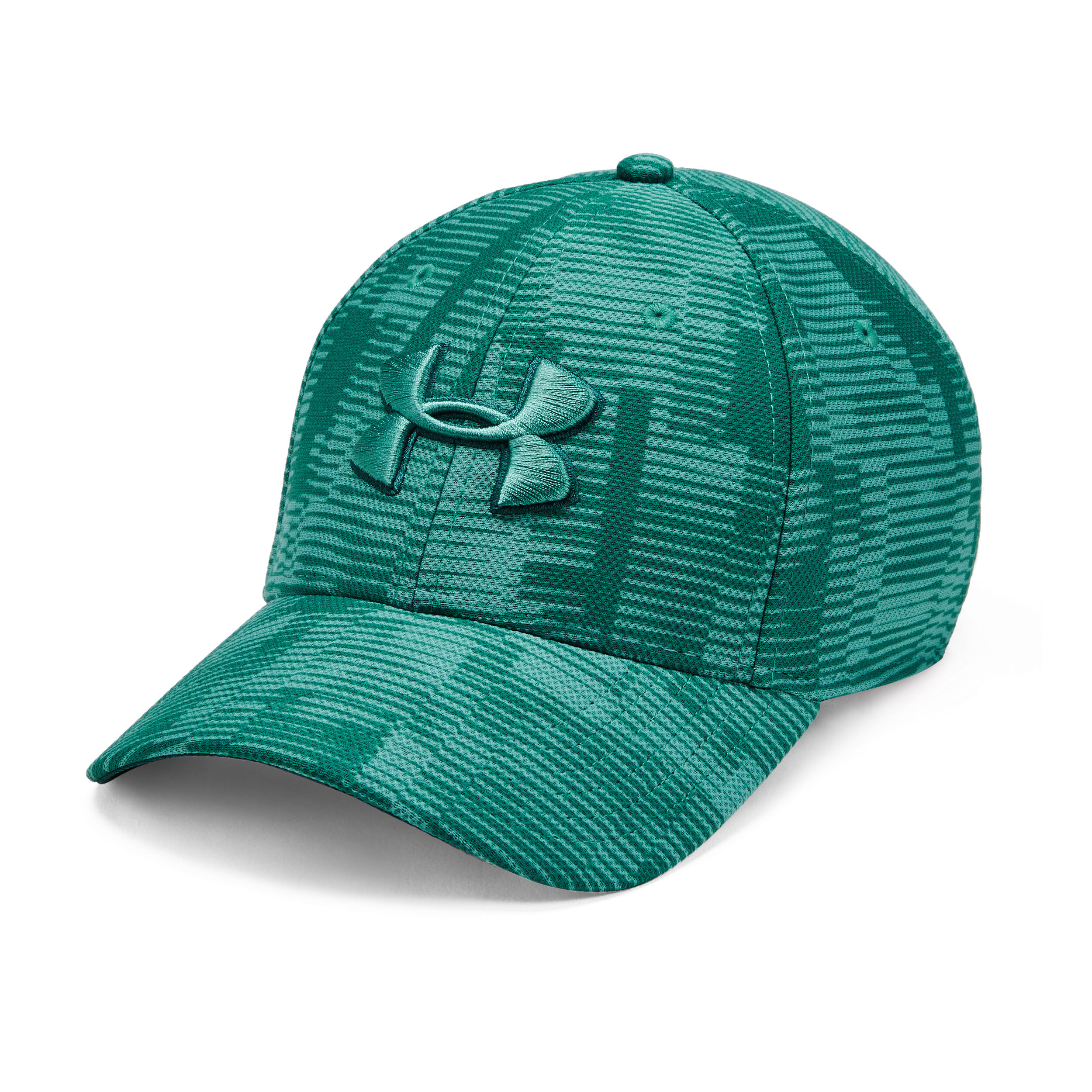 Under Armour Printed Blitzing 3.0 Casquette Bleu Petrol, Mint