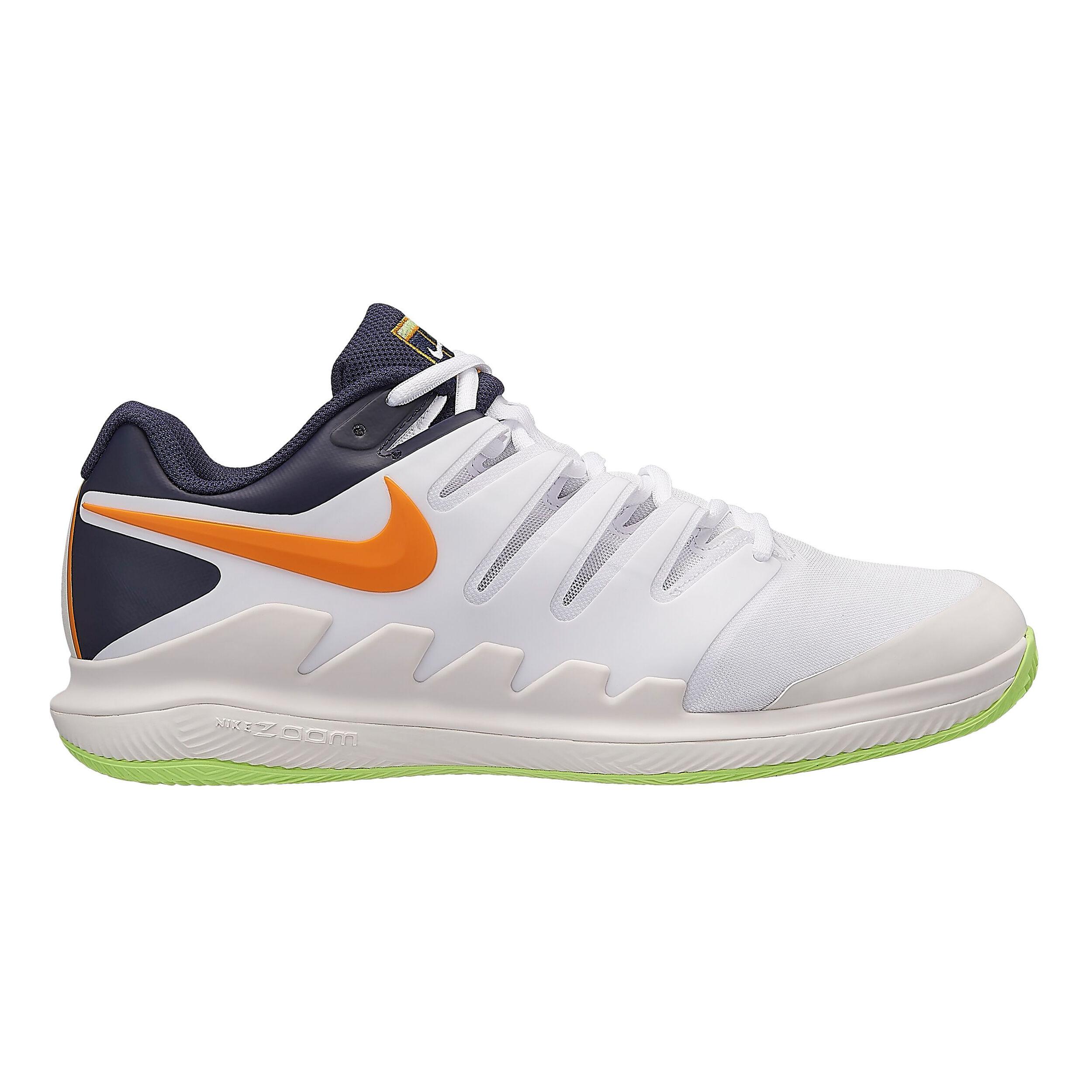 Nike Air Zoom Vapor X Clay Chaussure Terre Battue Hommes Blanc , Bleu Foncé