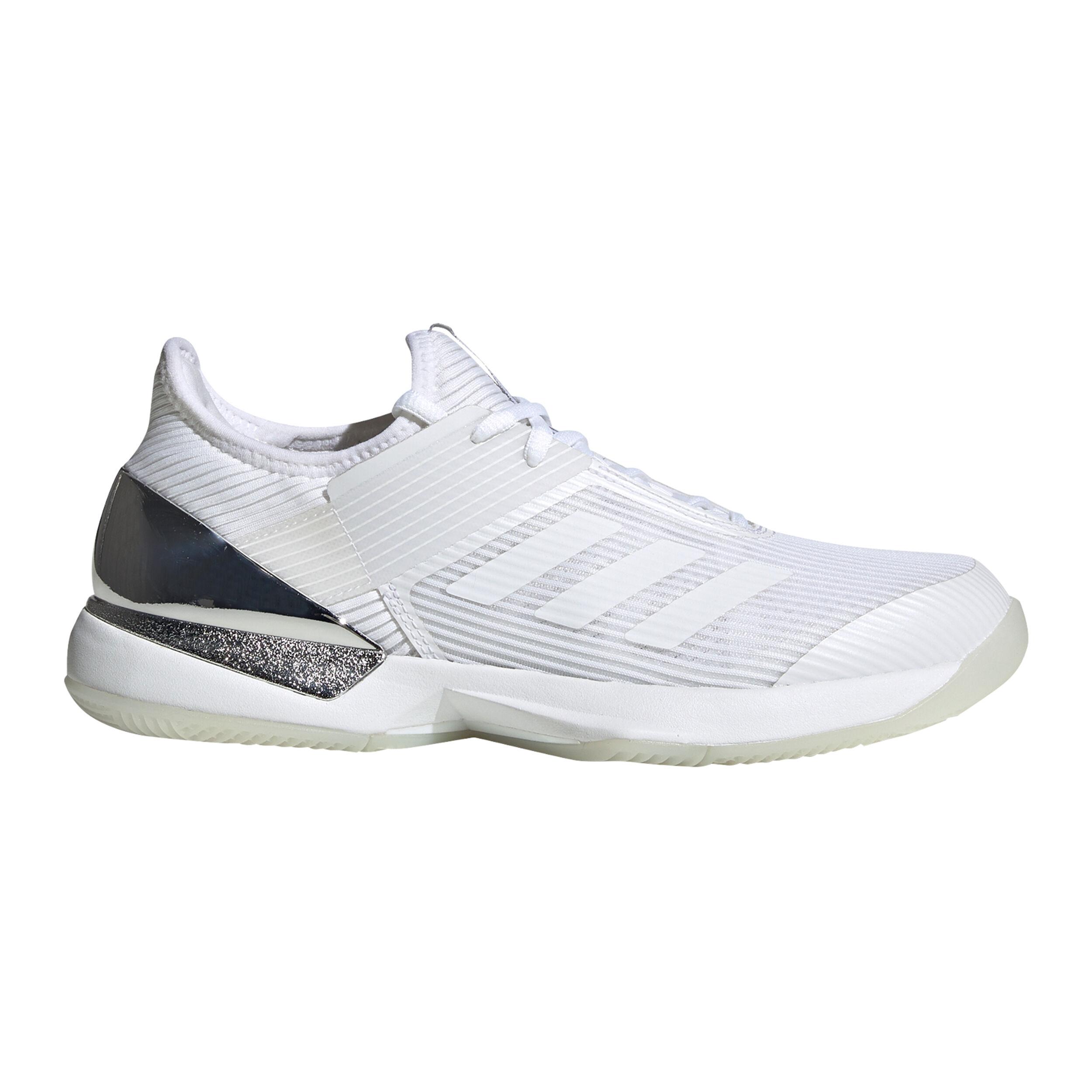 Adizero Ubersonic 3 Chaussures Toutes Surfaces Femmes Blanc , Noir