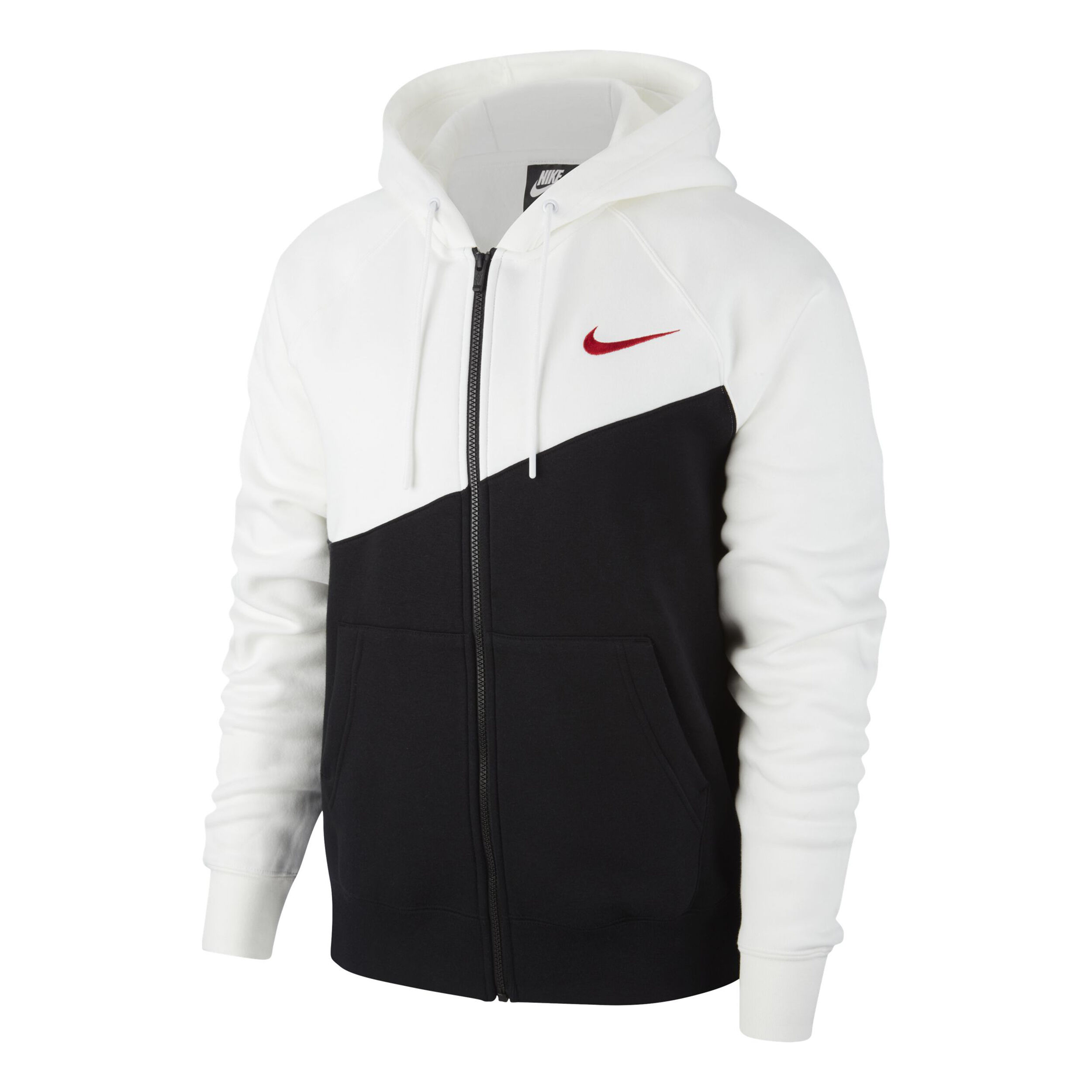 Nike Sportswear Swoosh Gilet En Coton Hommes Noir , Blanc