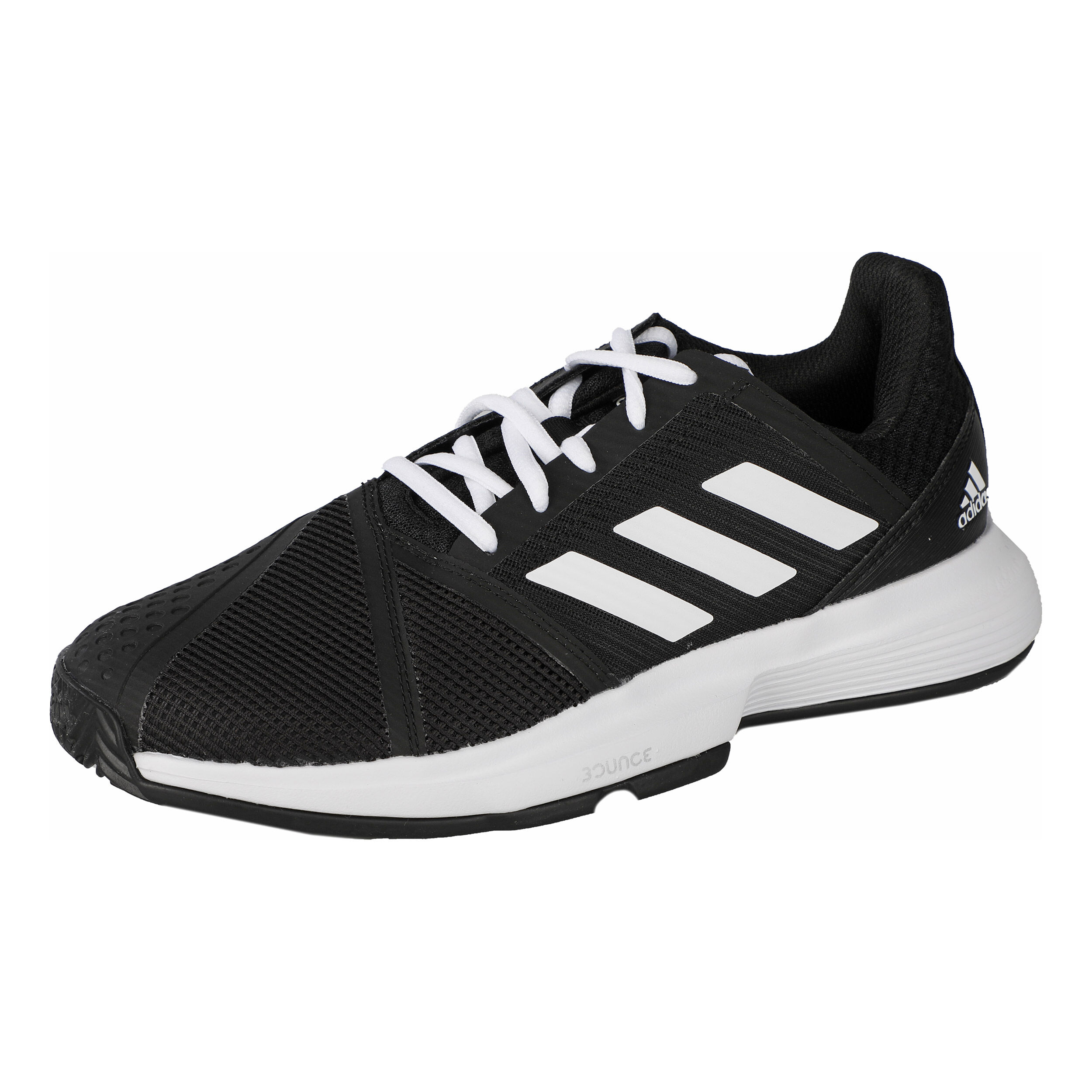 Chaussures Homme adidas CourtJam Bounce NoirBlanc Tennis