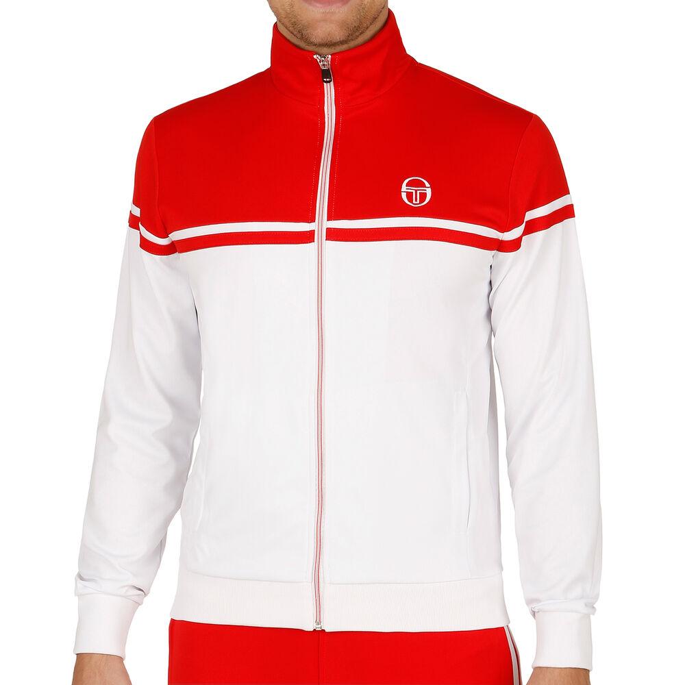 Sergio Tacchini Young Line Pro Track Veste De Survêtement Hommes - Blanc , Rouge